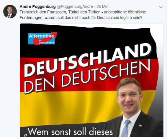 Poggenburg Deutschland den deutschen